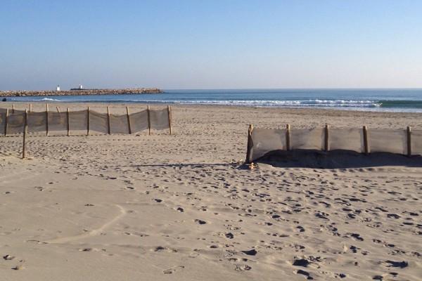 Strand in Saintes-Maries-de-la-Mer