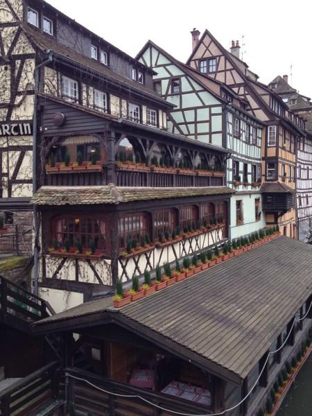 Fachwerk in der Altstadt von Straßburg