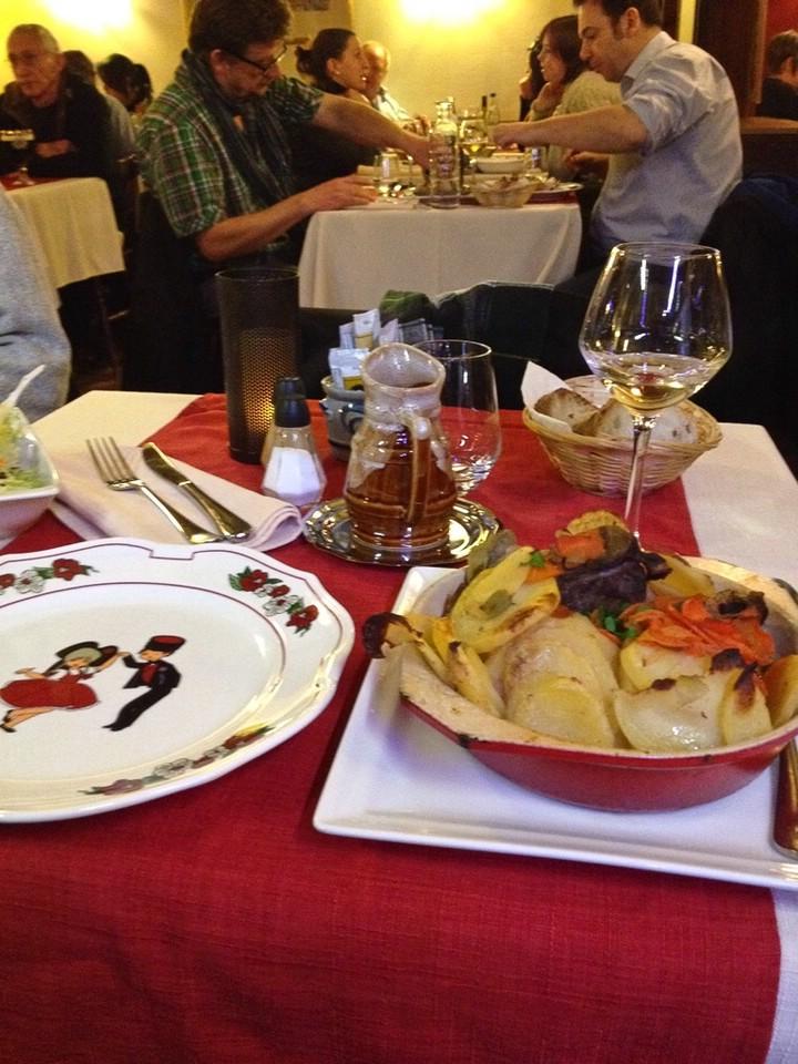 Abendessen in Straßburg, Baeckeoffe