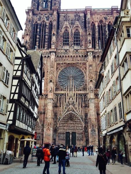 Blick auf den Straßburger Münster