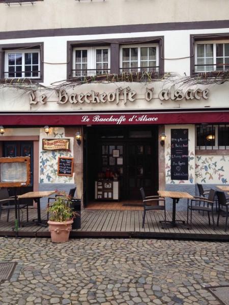 Straßburg, Restaurant Le Baeckeoffe d'Alsace