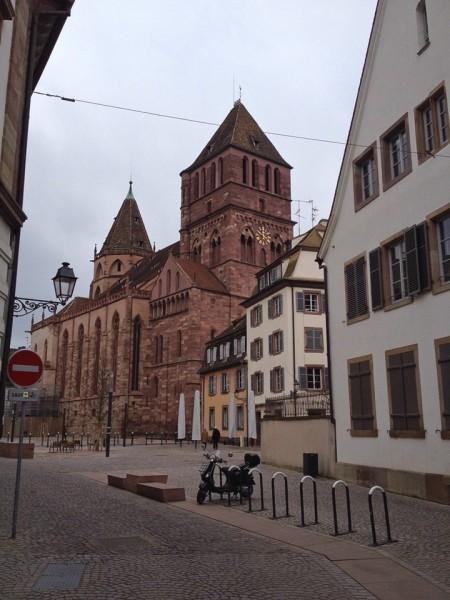 Die Thomaskirche in Straßburg