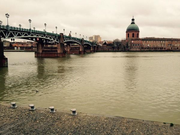 Toulouse, Brücke über den Fluss Garonne