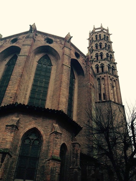 Dominikaner-Klosterkirche Les Jacobins in Toulouse