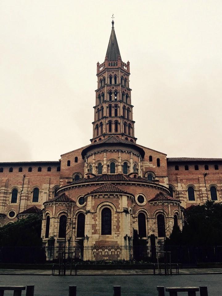 Die Basilika Saint Sernin in Toulouse