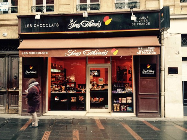 Chocolatier in der Innenstadt von Toulouse