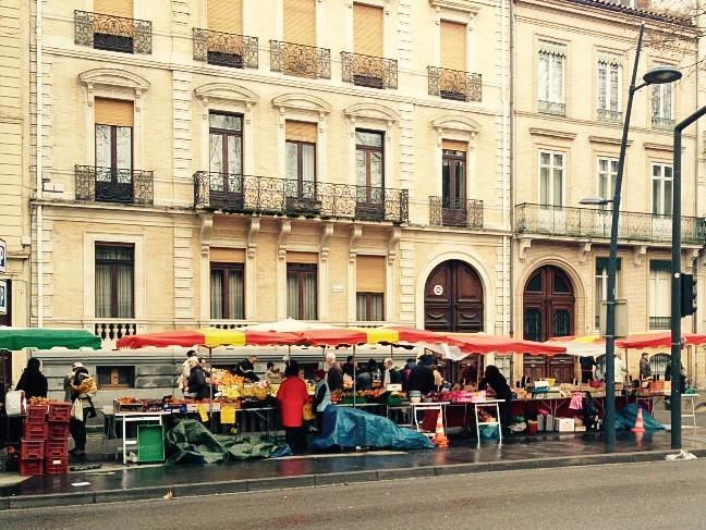 Wochenmarkt in Toulouse