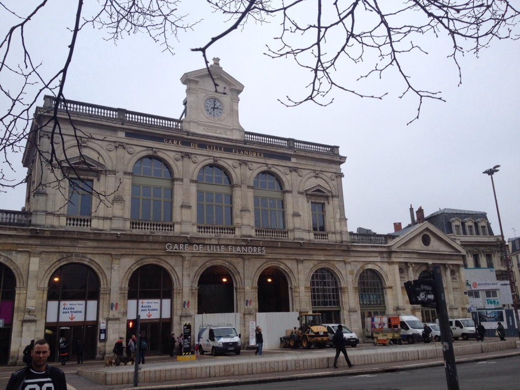 Alter Flandrischer Bahnhof von Lille