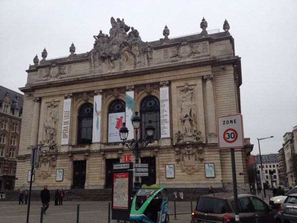 Das Opernhaus in Lille