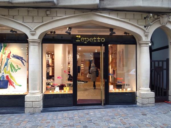 Kleiner Laden im Zentrum von Lille