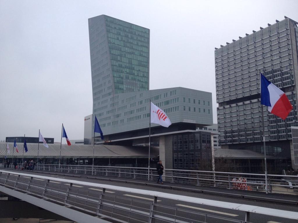 Lille modern - der TGV Bahnhof