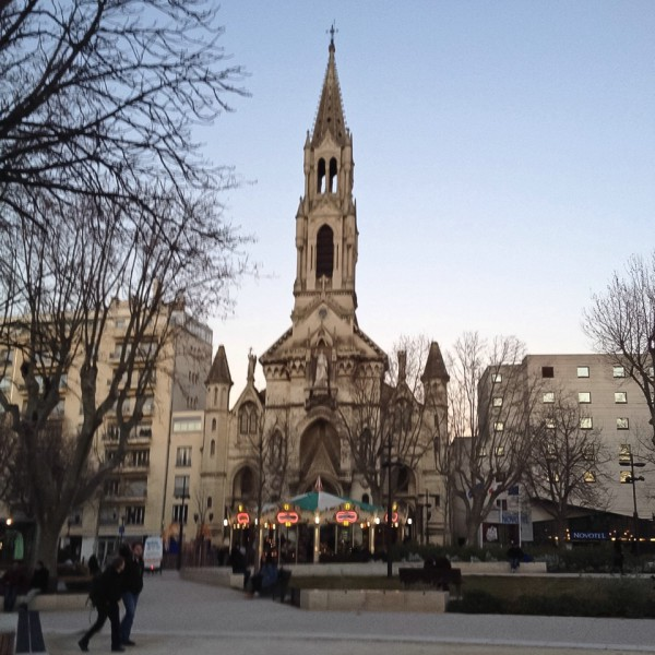 Die Kirche Sainte-Perpétue-et-Félicité in Nîmes